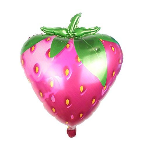 (Ximkee Jumbo 28 Inch Erdbeere Folie Ballons Geburtstag Hochzeit Party Supplies Xmas Kids ' Toy Gifts Pack of 2)