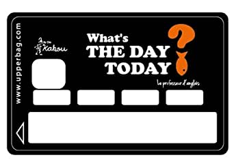 Upper Bag - Sticker CB By Elie Kakou What's The Day