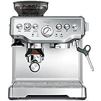 Sage Appliances SES875 Espresso-Maschine The Barista Express, Gebürstetes Edelstahl
