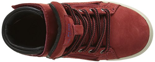 PLDM by Palladium Veleda Wp, Baskets mode mixte enfant Rouge (280 Red)