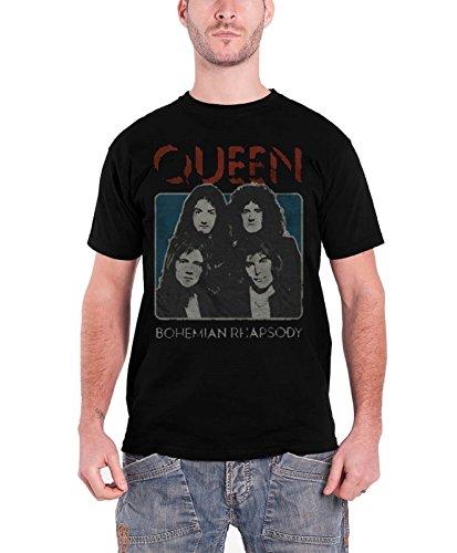 queen-bohemian-rhapsody-nouveau-official-noir-hommes-t-shirt