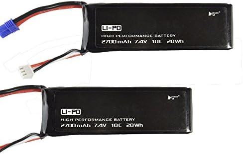 Ocamo 7.4 V 2700 mAh Batteries Drone pièces de rechange rechange rechange pour Hubsan H501 m/H501s/H501 C/H501 a Aircraft Quadcopter Drone   Sale Online  2bd146