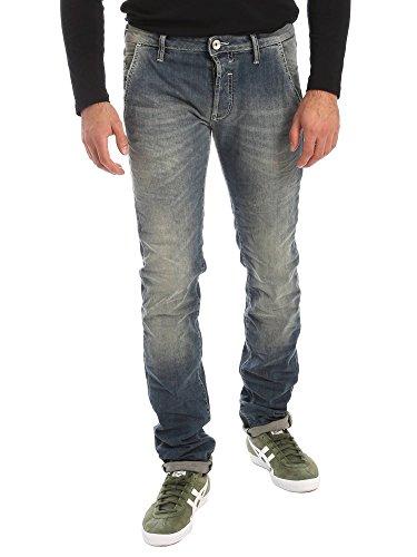 Gas 351312 Jeans Uomo Blu 32