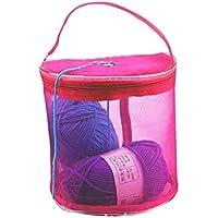 Zerama Mesh Knitting Needle Storage Bag Hollow Yarn Crochet Knit Organizer DIY Craft Tote Sewing Thread