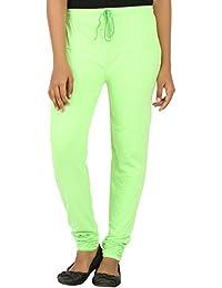 EAGLE Women Pista Green Leggings