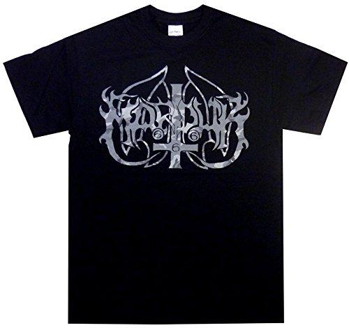 Marduk - Camouflage Logo Band T-Shirt (XL, Schwarz)