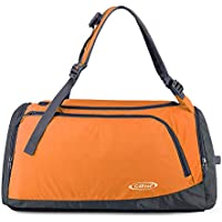 G4Free Lightweight Sports Bag Gym Bag Travel Duffel Backpack Weekend Bag with Shoe Compartment