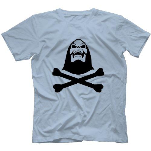 Skeletor T-Shirt in 5 Farben Hellblau