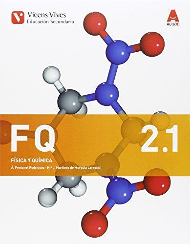 FQ 2 (2.1-2.2 FISICA Y QUIMICA) ESO AULA 3D: 000002 - 9788468240268