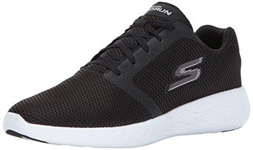 Skechers 54156, Sneakers Basses Homme - Noir - Black Synthetic Leather, 43.5 EU EU