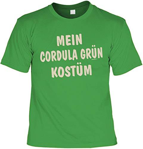 Sprüche/Karneval/Kostüm-Shirt Bekleidung/Freizeit/Thema Fasching: Mein Cordula Grün Kostüm (Farb Themen Kostüm)
