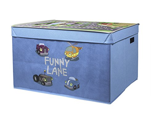 My Note Deco Funny Lane 064576 Toy storage box Independiente Azul,...