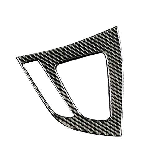 Fornateu Carbon-Faser-Schaltknauf Panel-Abdeckung Trim-Konsole Dekoration Streifen-Aufkleber für 1 Serie 2 Serie 2012-2017 -