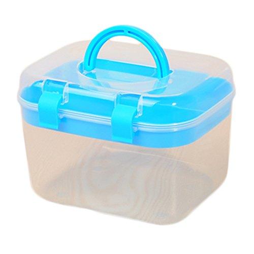 Gespout Lagerung Box Transparente Haushalt Gesundheitswesen Medizin Box Portable Medizinische Box Aufbewahrungsbox