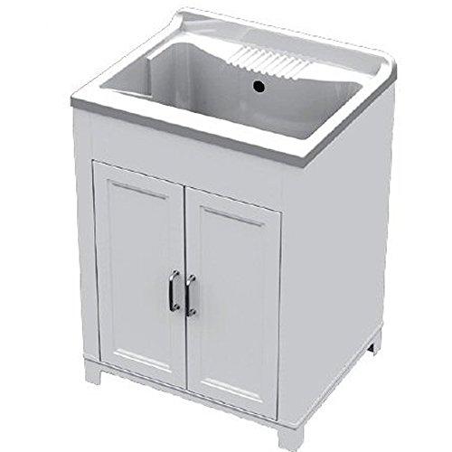 Mobile lavatoio con lavello 60 x 50 x 84