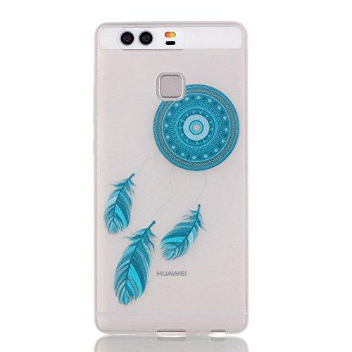 Huawei P9 Cover, Qissy®Creative 3D Schema UltraSlim