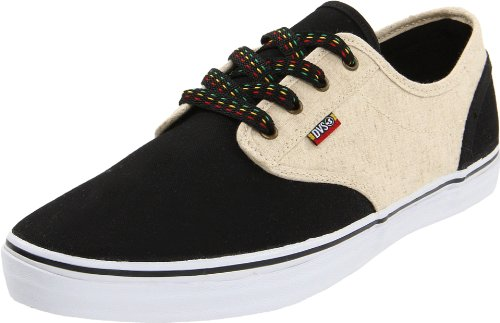 Dvs Shoes D/S/ Rico Ct Sp3, Sneaker Uomo, Nero (Schwarz (Black Hemp Blk)), 45