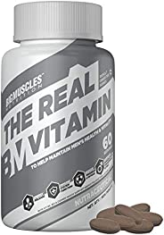 Bigmuscles Nutrition The Real Vitamin Advanced Multivitamin [60 Tablets] | Multivitamins, Multiminerals Nutrit