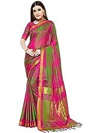 Art Decor Sarees Cotton Silk Saree with Blouse Piece