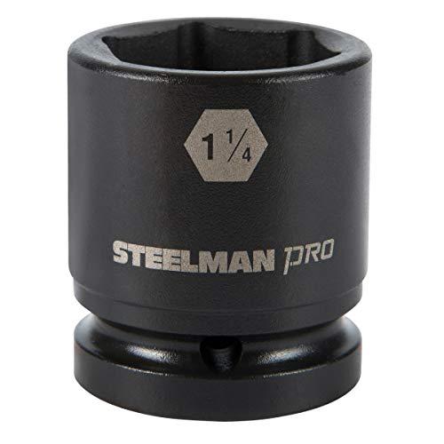 STEELMAN PRO 79241 3/4-Inch Drive x 1-1/4-Inch 6-Point Impact Socket -