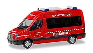 Herpa 094597 VW Crafter Bus HD - Cable de Bomberos para Furgoneta