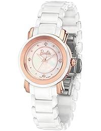 Barbie W50330L.01A 2017 Reloj Moderno Cerámica de Pulsera para Mujer de Color Plateado