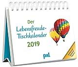 Der Lebensfreude-Tischkalender 2019: Inspirierender Kalender zum Aufstellen, m. 10-Tages-Kalenderium & motivierenden und positiven Gedanken, Spiralbindung, 10,0 x 15,0 cm - Dr. Dr. Doris Wolf