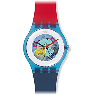 Swatch Reloj de Cuarzo Unisex Color My Laquered 41 mm