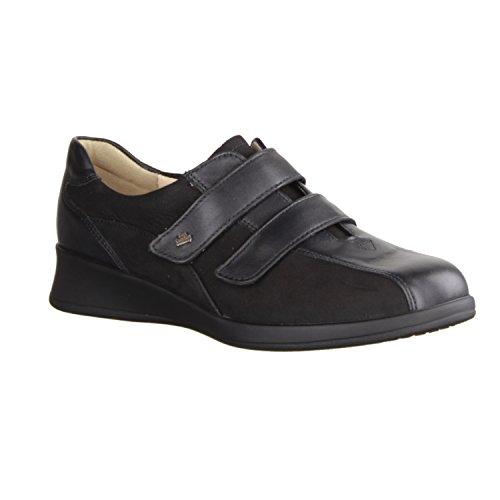 basse Nero nero nappa Finn 42 Comfort scarpe 5 Nero Nabuk nero Nairobi ZEUIqBSnqw
