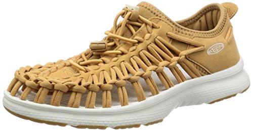 Keen Damen Uneek O2 W Sneakers Mehrfarbig (Tan/white)