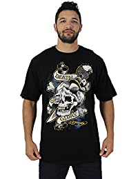 Ed Hardy por Christian Audigier Hombres del tatuaje graphic tee T-Shirt, varios estilos