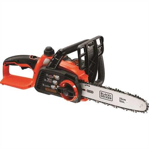 Black+Decker Li Ion Akku-Kettensäge 18V GKC1825L20 mit Akku und Ladegerät / Ideal für Holz- & Gartenarbeiten / 25 cm Schwertlänge - 2