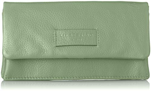 Liebeskind Berlin Damen Essential Slam Wallet Large Geldbörse, Grün (Hedge Green), 2x10x19 cm