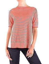 MONCLER Femme MCBI35932 Rouge Coton T-Shirt bd296ae70ea