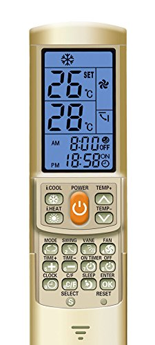 Jolly Line Telecomando Universale condizionatore 2000 Codici. Compatibile con Daikin, Mitsubishi, Panasonic, Hitachi, Lg, Samsung