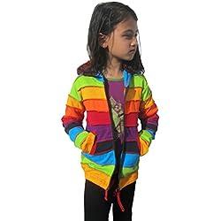 LITTLE KATHMANDU - Sudadera con capucha - para niña multicolor multicolor 10 años