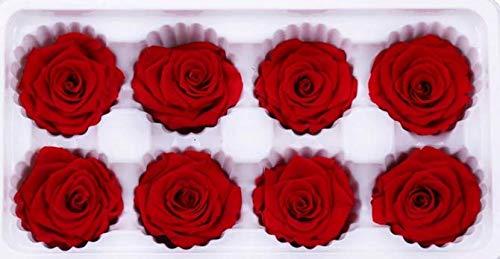 he Rose Blumen Bad Seife Blume für Hochzeitssträuße Mittelstücke Blumenarrangements Home Party Dekorationen (Rot) ()