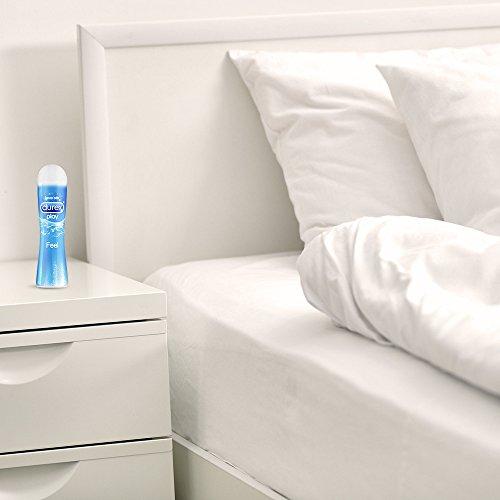 Durex Play Feel Gleitgel, wasserbasiert/ auf Wasserbasis, für gefühlsechtes Empfinden, 1er Pack (1 x 100 ml) - 6