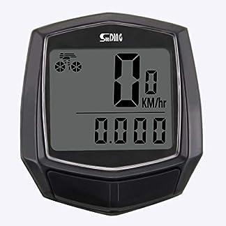 ALLTA Cableado Impermeable LCD Digital Ciclo Bicicleta Bicicleta Computadora Velocímetro Odómetro