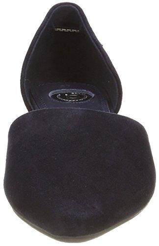 Bugatti Damen 411436603400 Slingback Ballerinas Blau (Dark Blue)
