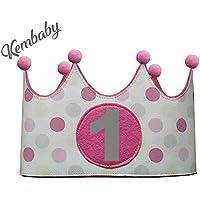 Corona primer cumpleaños 1 año para niñas