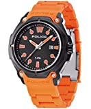 Police Men's Quartz Watch with Black Dial Analogue Display and Gold Plastic PL,13939JSB / 02