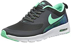 Nike Unisex-Kinder Air Max Thea Print GS 820244-002 Sneaker, Mehrfarbig (Black 001), 36 EU