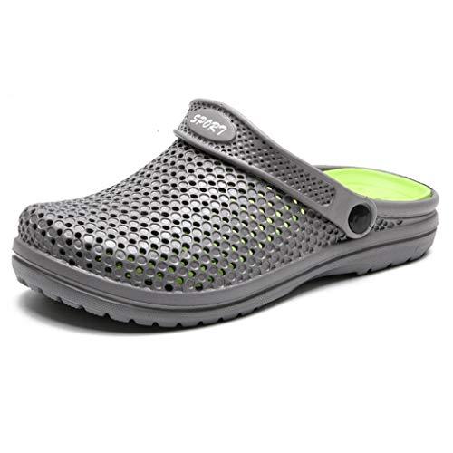 Aoogo Sandalen Shoes Lässige Herren Sommer Loch Schuhe Sandalen atmungsaktiv lässig Outdoor rutschfeste Strand Slipper Schuhe Strandschuhe Freizeitschuhe Turnschuhe Hausschuhe