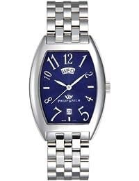 Philip Watch Panama - Reloj analógico de cuarzo para hombre con correa de metal, color