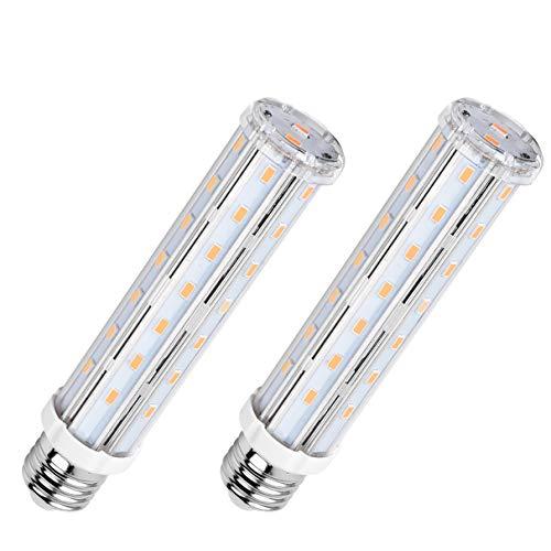 SanGlory 2 Pezzi Lampadina LED E27 15W Equivalenti a 120W, Lampadine E27 LED Caldo 2700K 1500LM Lampadine LED di Mais, Non Dimmerabile