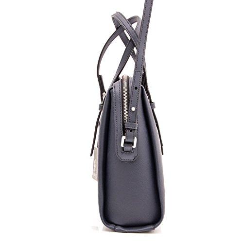CALVIN KLEIN - Calvin klein borse donna marissa medium satchel k60k602111 Blu