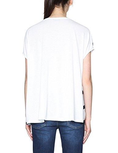 Desigual Damen T-Shirt TS_Unforgetable Weiß (White 1000)