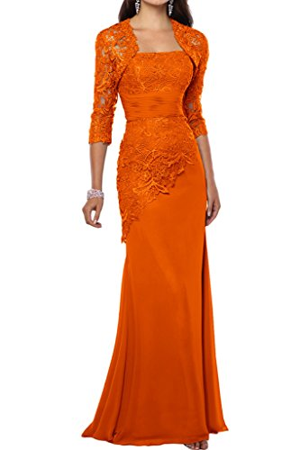 Victory Bridal - Robe - Crayon - Femme Orange - Orange