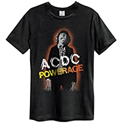 Amplified Hombres Ropa Superior/Camiseta ACDC Powerage